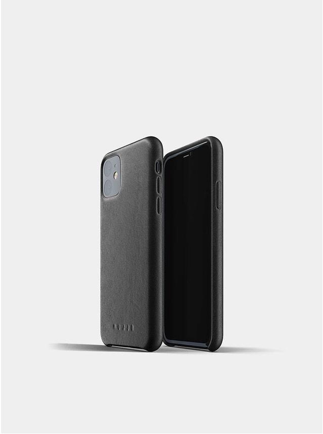 Black Full Leather iPhone 11 Case