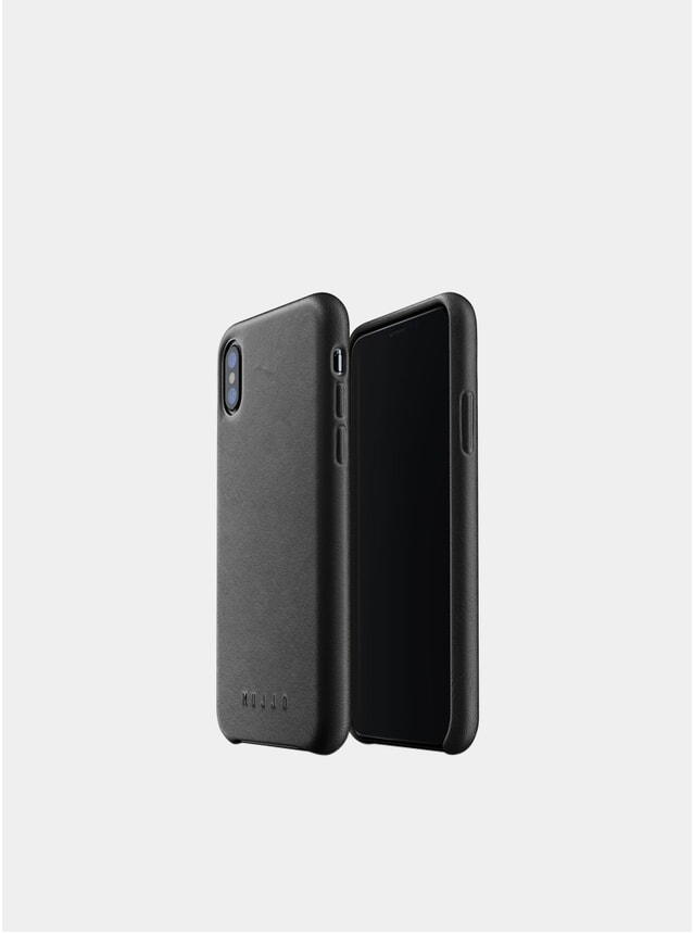 Black Xs iPhone Full Leather Case