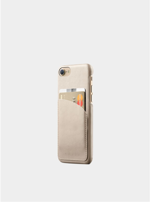 Champagne iPhone 8/7 Leather Wallet Case