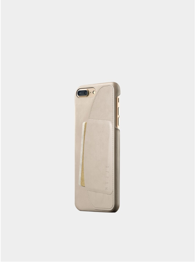 Champagne iPhone 8/7 Plus Leather Wallet Case