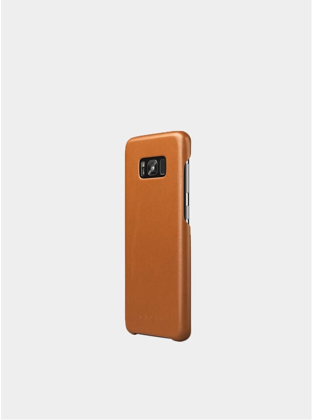 Tan Galaxy S8 Plus Leather Case