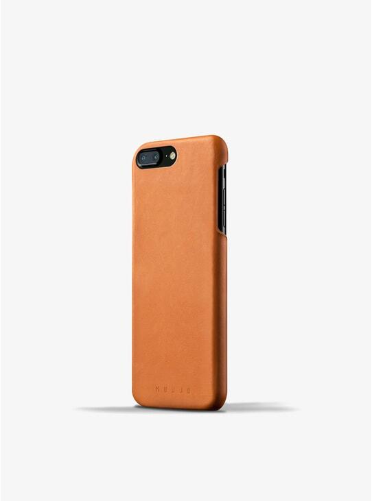 Tan Leather iPhone 8 Plus / 7 Plus Case