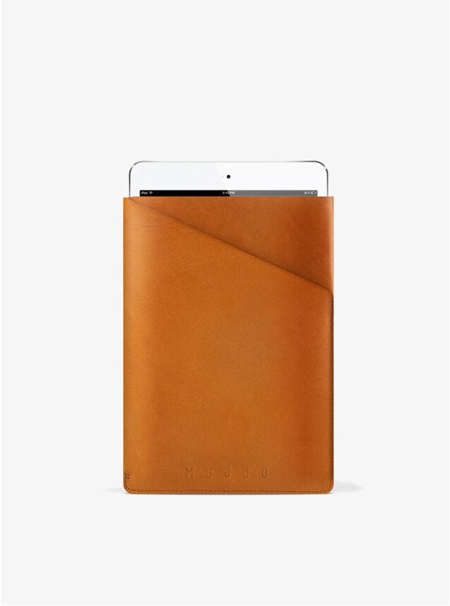 Tan Slim Fit iPad Mini Sleeve