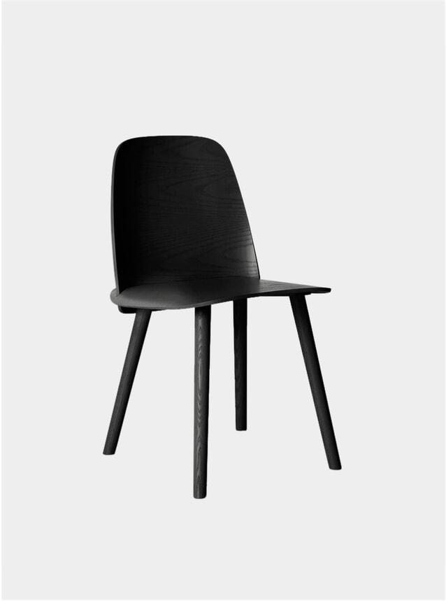 Black Nerd Dining Chair