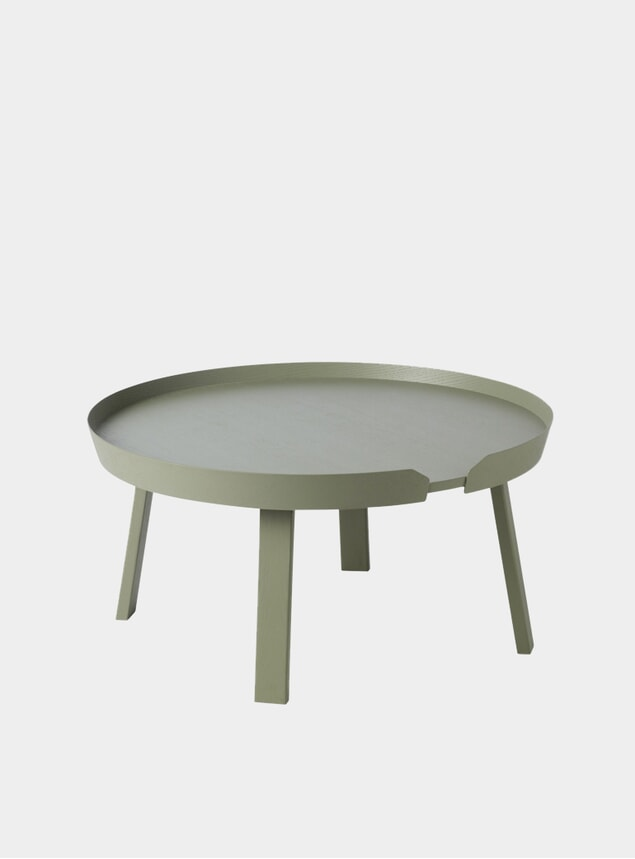 Dusty Green Large Around Coffee Table