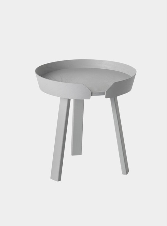 Light Grey Around Small Coffee Table
