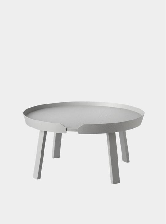 Light Grey Large Around Coffee Table