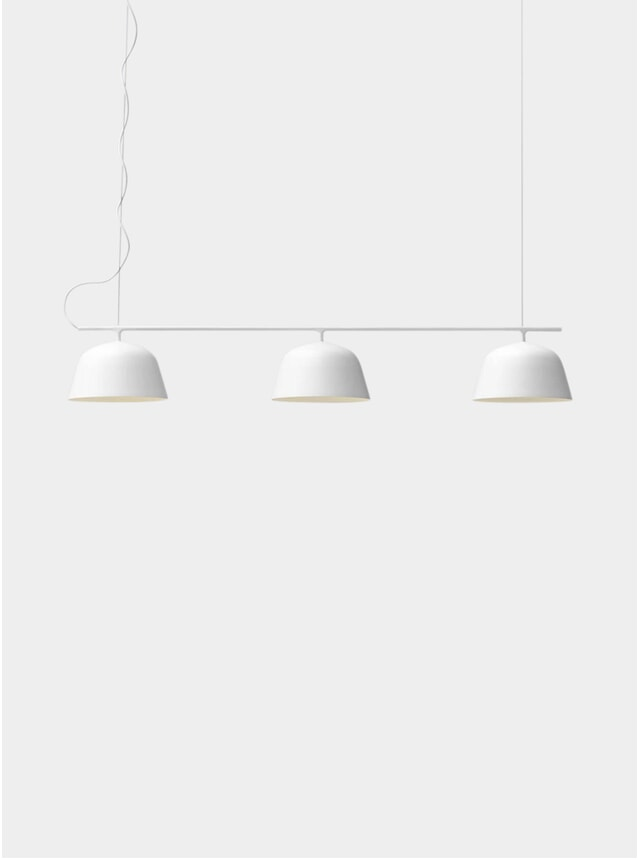 White Ambit Rail Lamp