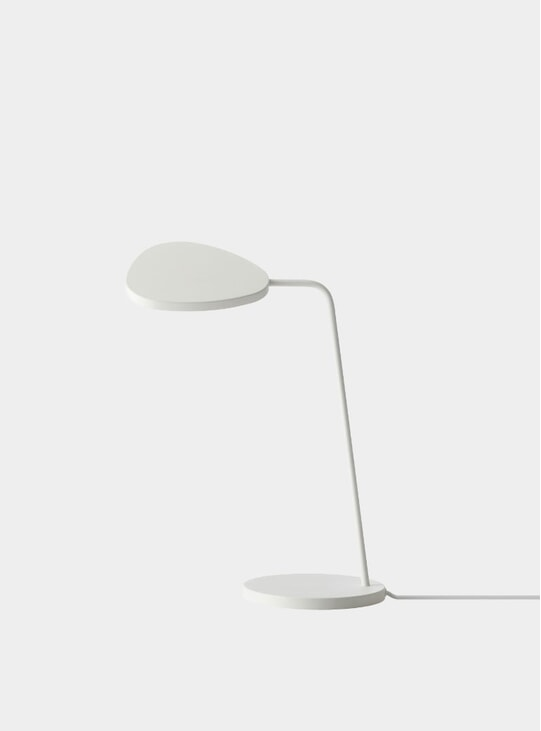 White Leaf Lamp