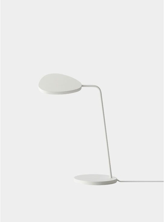 White Leaf Lamp