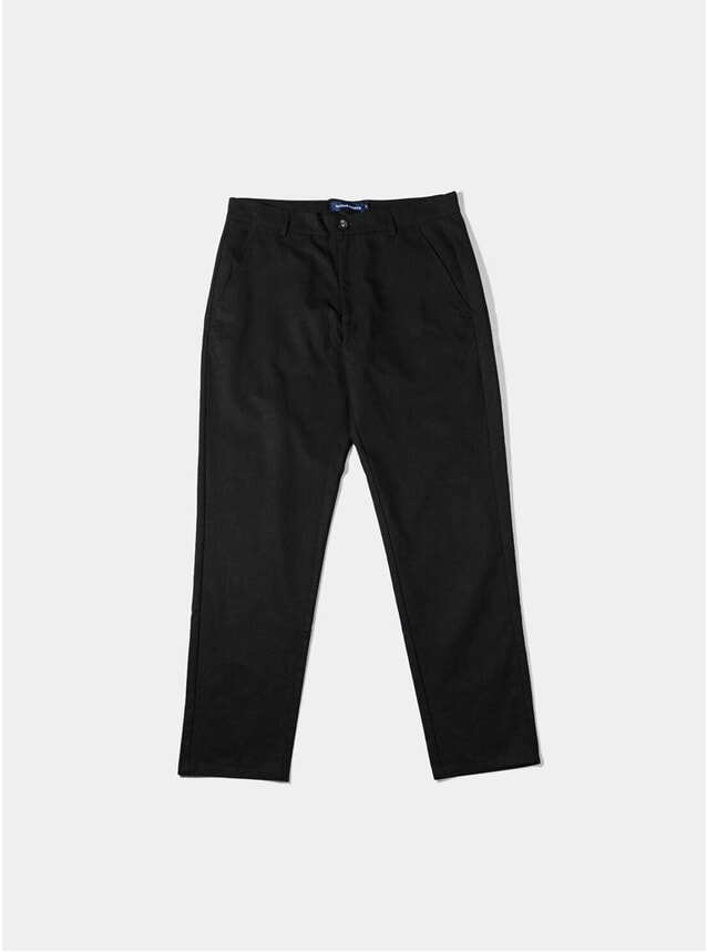 Black Japanese Tencel Pant