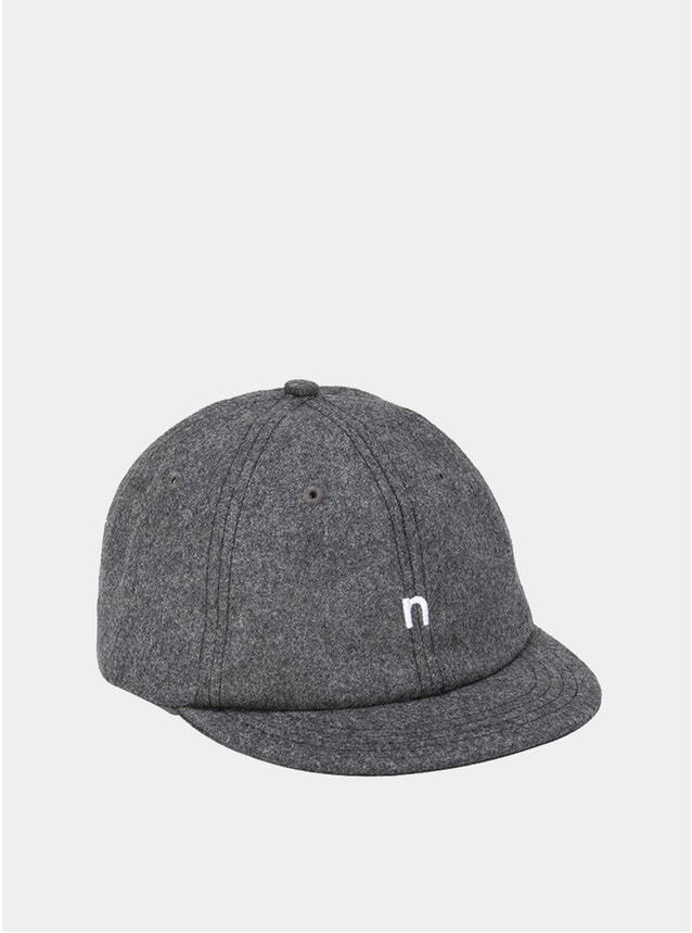Charcoal Hurley Wool Cap