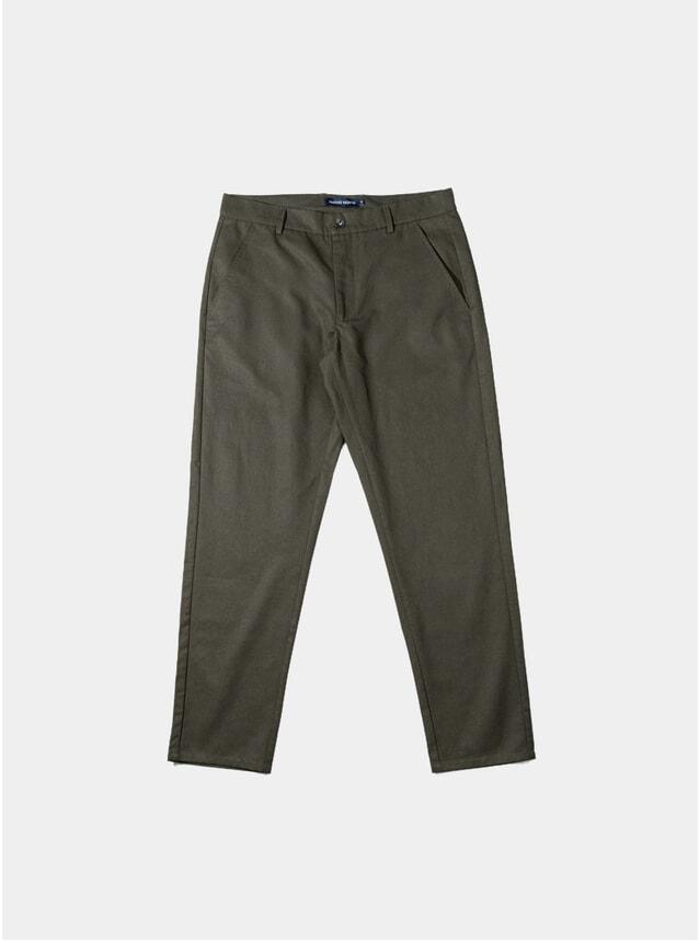 Green Japanese Tencel Pants