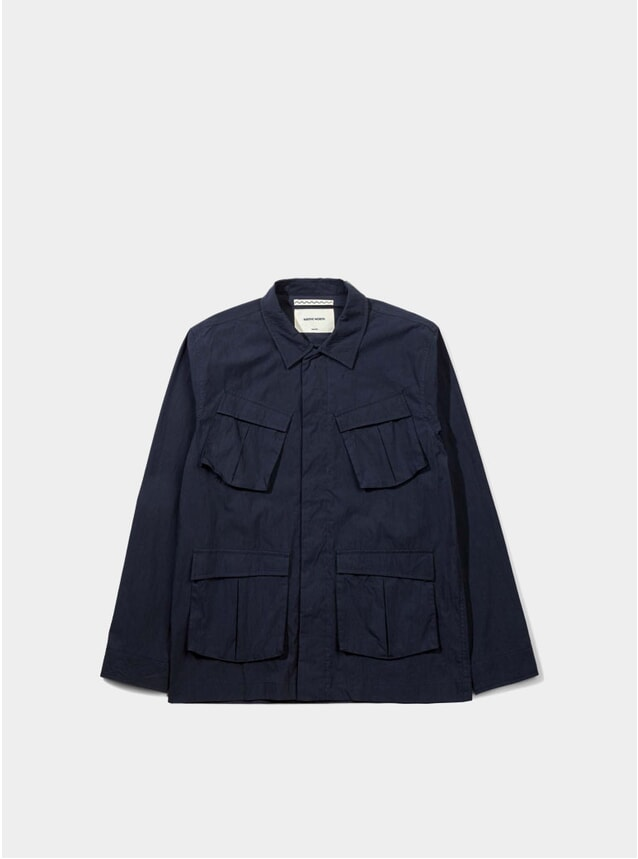 Navy Thorvald Paper Jacket