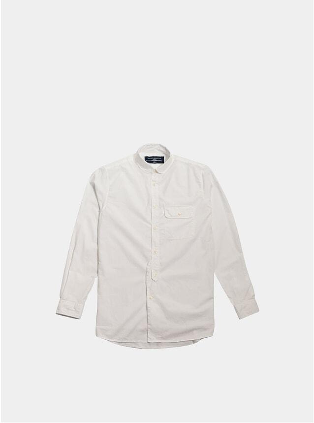 White Poplin Studio Shirt
