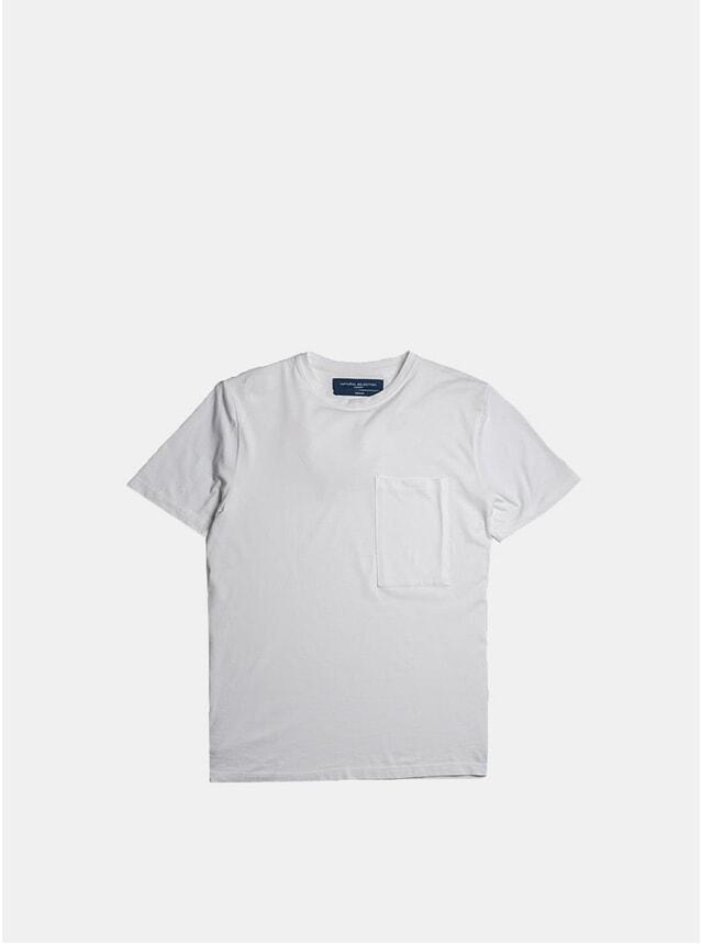 White Supima Pocket T Shirt