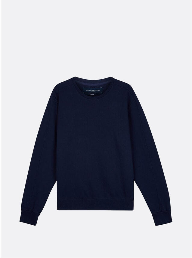 Navy Linear Jumper
