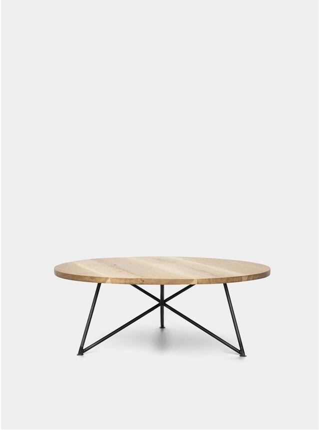 Oak Wood Sofa Table