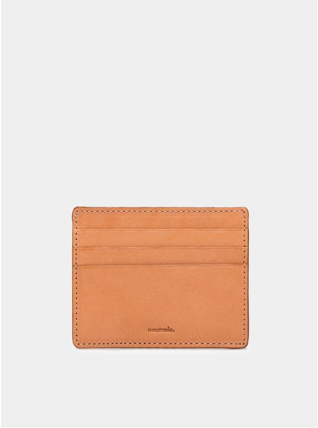 Tan Leather Card Case