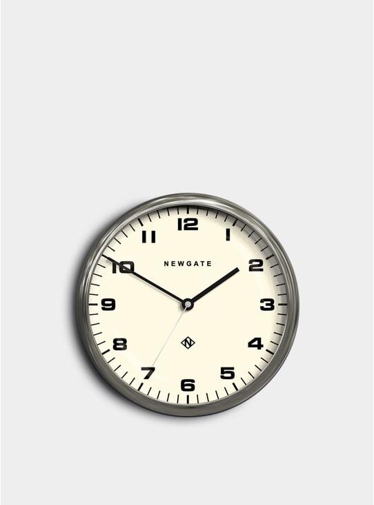 Large Chrome Chrysler Clock