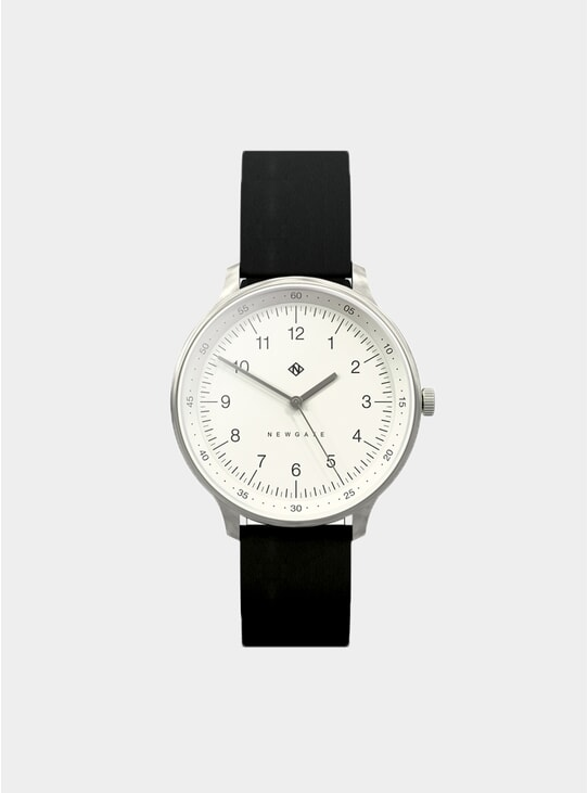 Black Nubuck Blip Watch