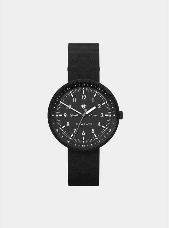Black Torpedo Watch