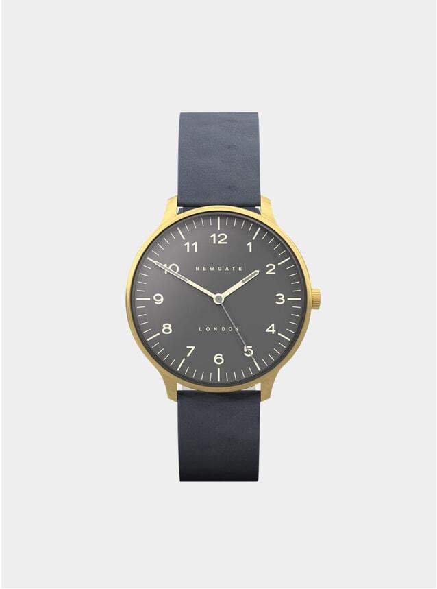 Blue / Gold Nubuck Watch
