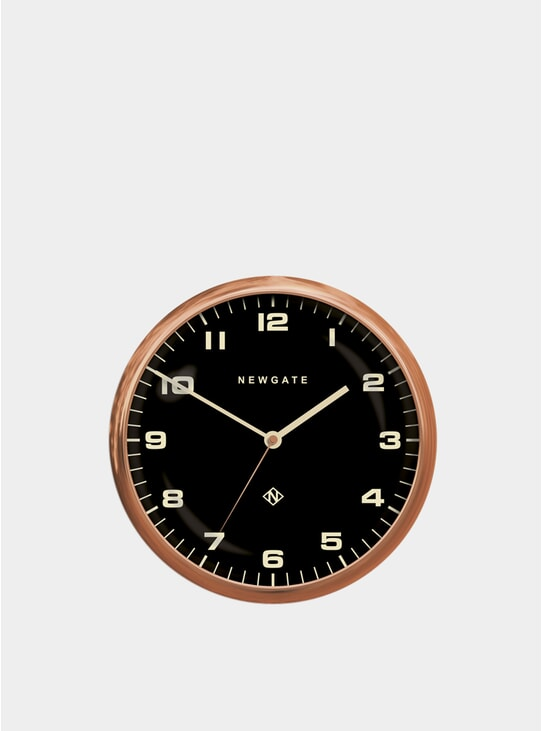 Copper Chrysler Wall Clock