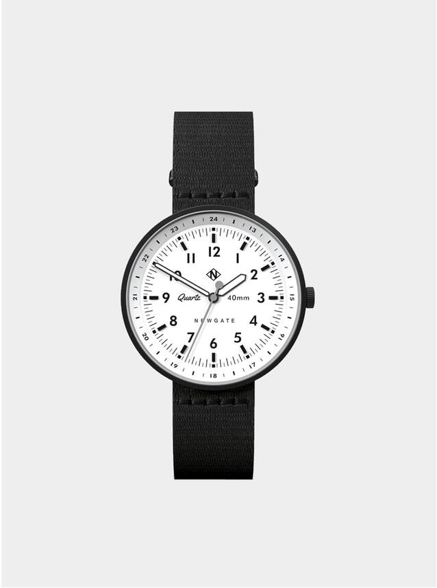 White / Black Torpedo Watch
