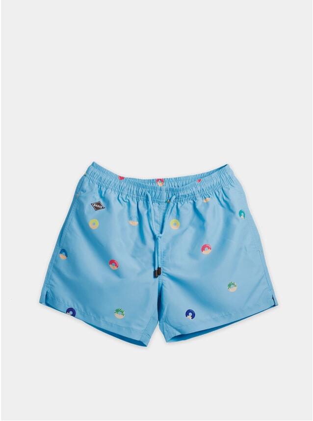 Blue Copkilla Swim Shorts