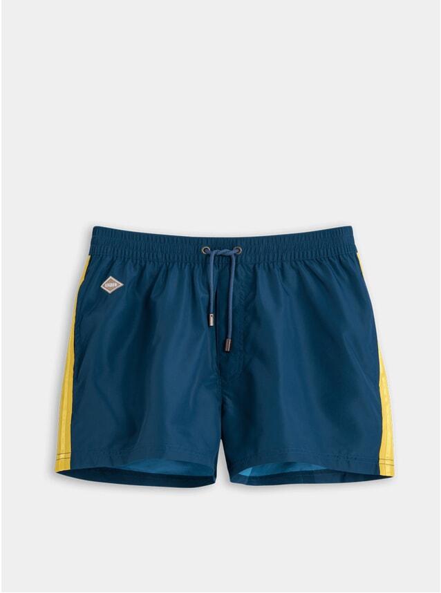 Navy Studio Swim Shorts