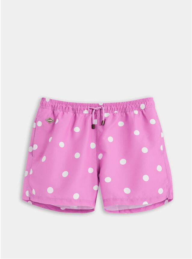Pink Dot Swim Shorts