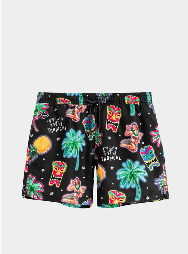 Tiki Tropical Swim Shorts