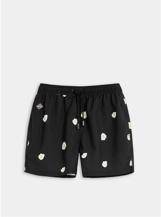 Black Benedict Swim Shorts