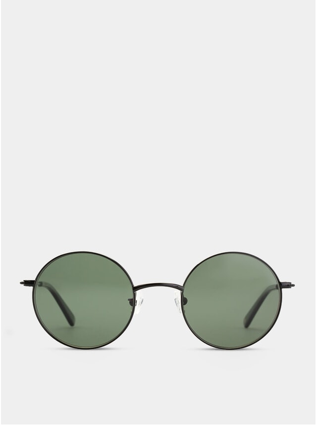 Black / Green Hong Kong Sunglasses