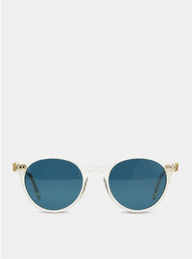 Champagne Crystal Paris Sunglasses