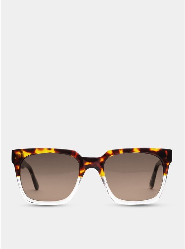 Split Tortoise Oslo Large Sunglasses