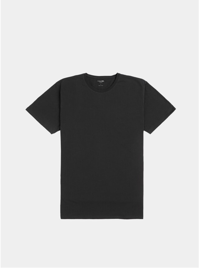 Charcoal Plain Cotton T Shirt