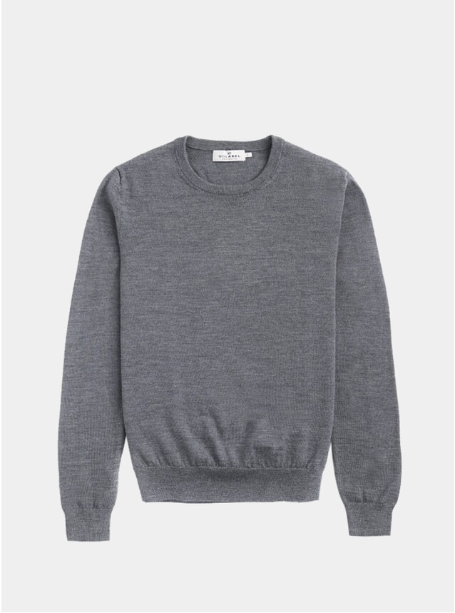 Grey Knitted Crewneck