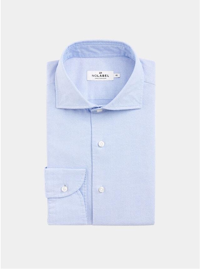 Light Blue Specialist Plain Oxford Shirt