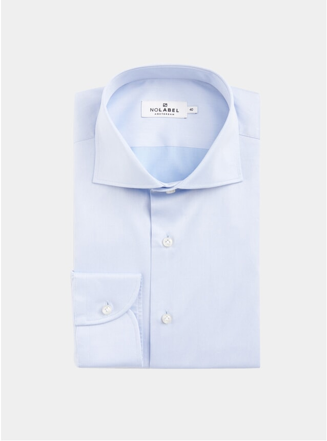 Light Blue Underwood Plain Twill Shirt