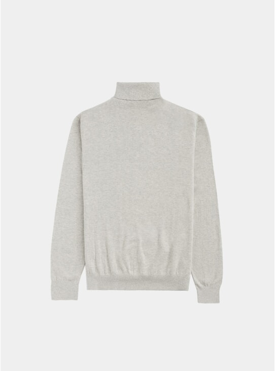 Light Grey Helmut Turtleneck