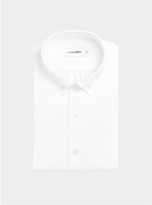 White Mats Plain Twill Shirt