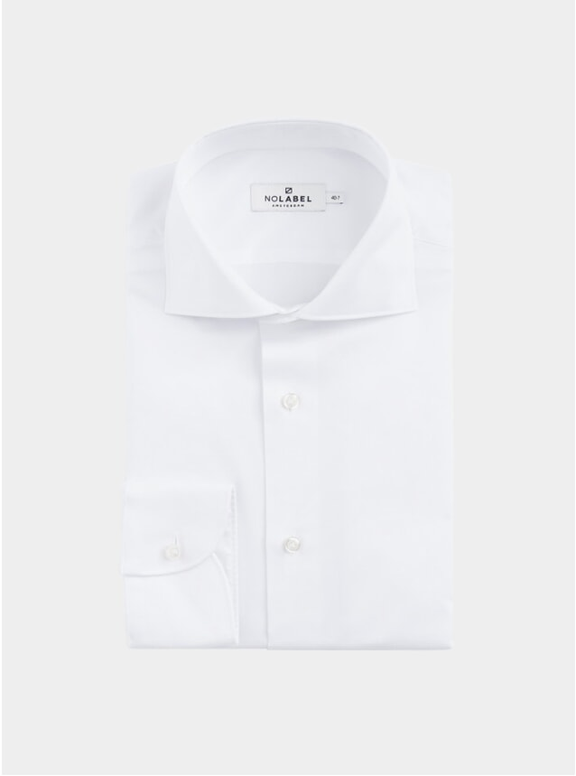 White Plain Twill Underwood Shirt