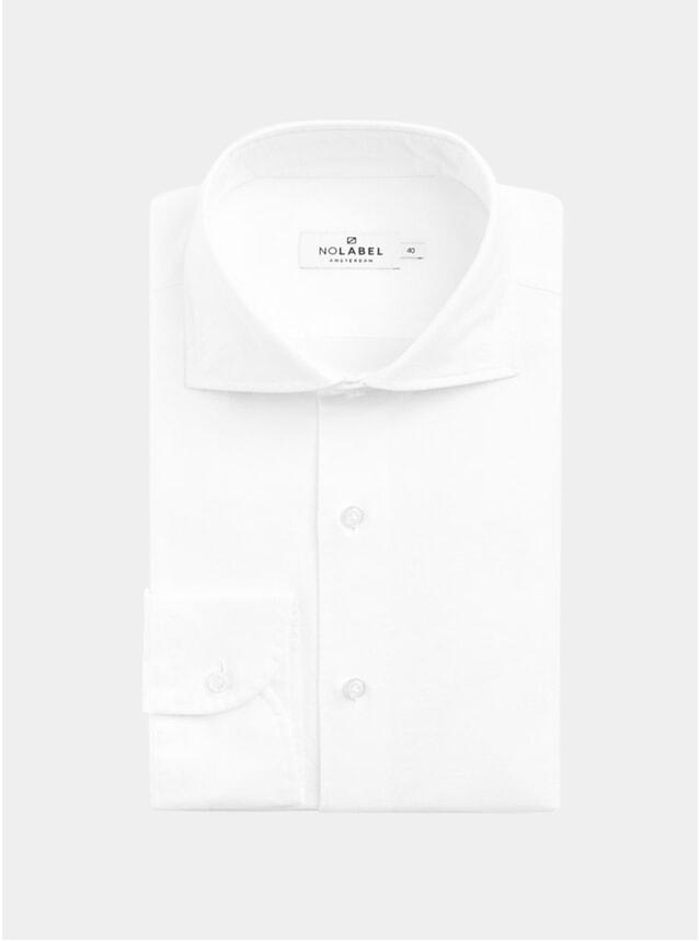 White Specialist Plain Oxford Shirt