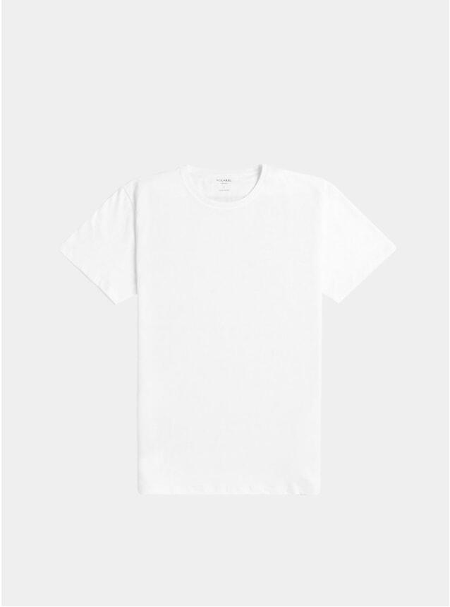 White Teebone Plain Cotton T Shirt