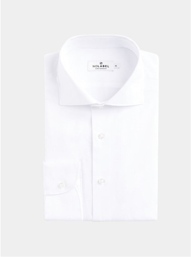 White Underwood Plain Pinpoint Shirt