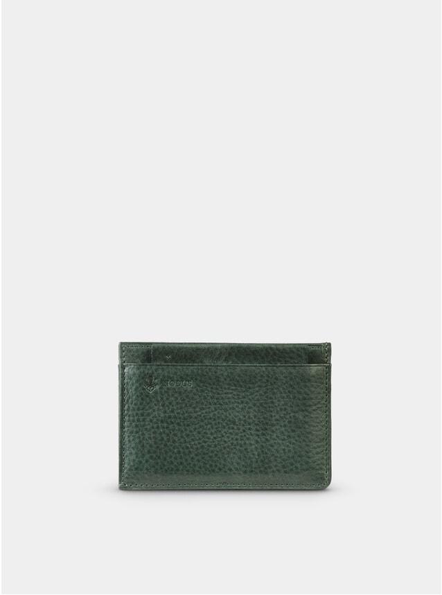 Dark Teal Compact Wallet