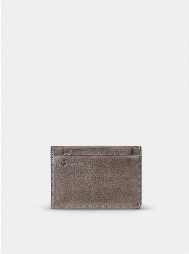 Taupe Grey Compact Wallet