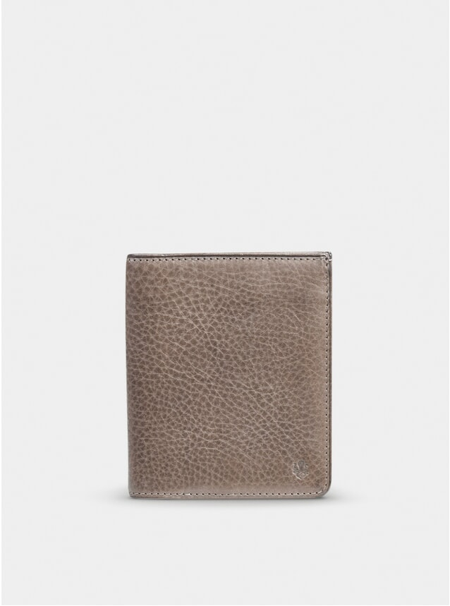Taupe Grey Hifold Wallet